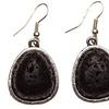 Essential Oil Diffuser Lava Rock Earrings