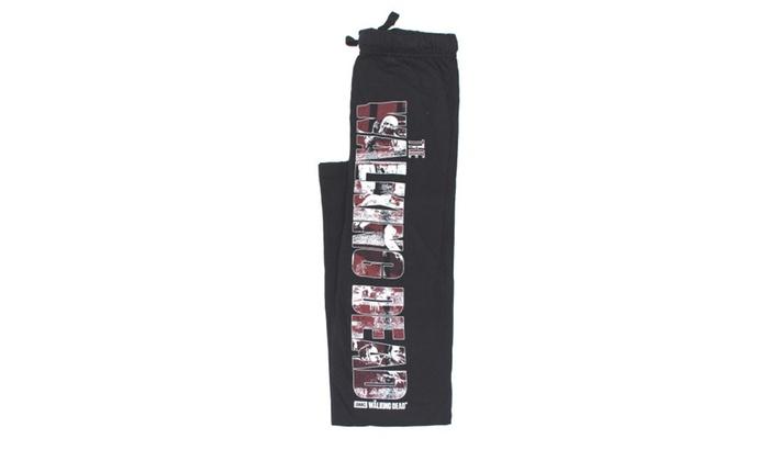 336d58feb0b9 The Walking Dead Mens Lounge Pajama Pants | Groupon