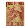 'La Belle Otero 1894' Canvas Art