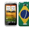 Insten Brazil National Flag Phone Back Case for HTC One X One X Plus