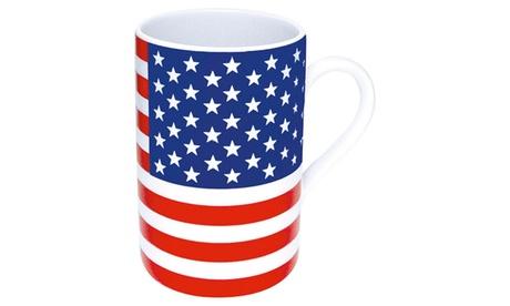 Set of 4 Flag Mugs Stars & Stripes f90daa74-2f3c-44c8-92fb-9f22c7e1cb78