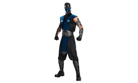 Mortal Kombat - Subzero Deluxe Adult Costume a4c35d9c-f141-4a2c-aa86-9846ef15138b