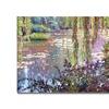 David Lloyd Glover Homage to Monet Canvas Print