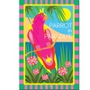 Grace Riley 'Tropical Beach' Canvas Art
