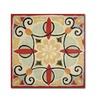 Daphne Brissonnet Bohemian Rooster Tile Square II Canvas Print