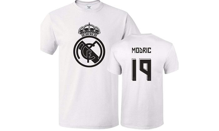 more photos 80422 91811 Tcamp Real Madrid Shirt Luka Modric #19 Jersey Men T-shirt