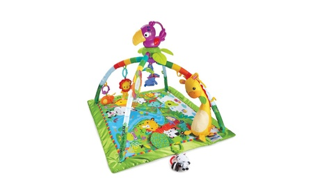 Fisher-Price Rainforest Music & Lights Deluxe Gym 24f7030a-3e64-4060-8839-7d397ada64c3