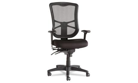 Alera Elusion Series Mesh High-Back Multifunction Chair, Black 7994a3eb-e06c-46b6-8d84-93fe406043b9