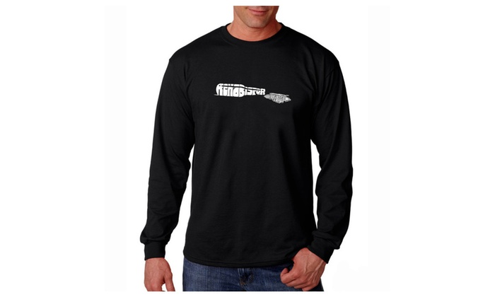 Men's Long Sleeve T-shirt - REHAB IS FOR QUITTERS