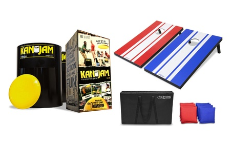 TailGate Outdoor Game Set Includes Kan Jam and Cornhole df1cb864-54cc-498d-8e33-5bc19aa35890