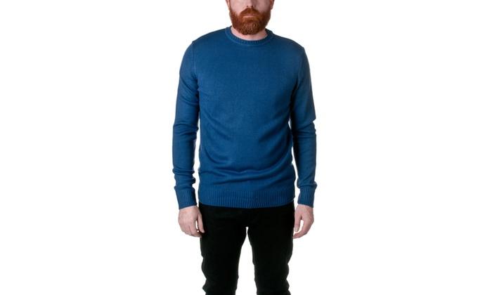 Republic Knit Crewneck Pullover Sweater AF39RJ-1