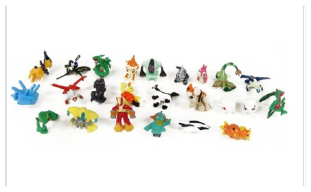 "Pokemon Set of 24 pieces - 1"" Inch Mini Action Figure Set bbf4fab3-3818-4152-b935-6dc2c5d608e6"
