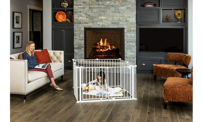 Ordinaire Up To 14% Off On Regalo Double Door Baby Gate   Groupon Goods