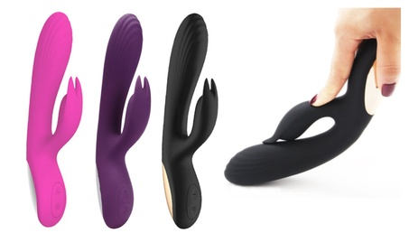 10 Speeds G-Spot Rabbit Vibrator Waterproof Rechargeable Vibrator Toys e6e415ca-7470-4e03-8afb-03e877ab8bf0