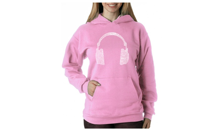 Women's Hooded Sweatshirt -63 DIFFERENT GENRES OF MUSIC