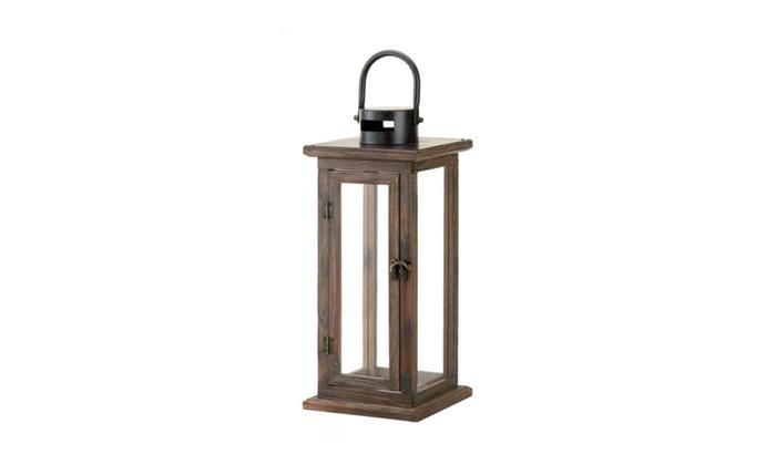 clickhere2shop koehler home decor perfect lodge wooden lantern - Koehler Home Decor