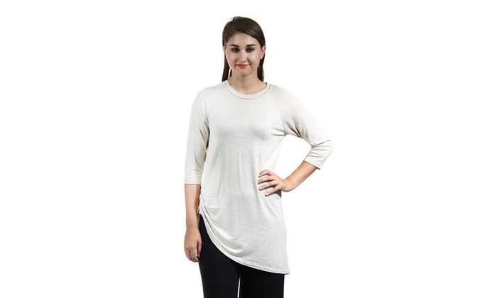 Women's Side-Cinched Tunic,CF2010,S