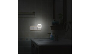 Plug-in Light Sensor Auto LED Night Light - 0.5W (2 pack)