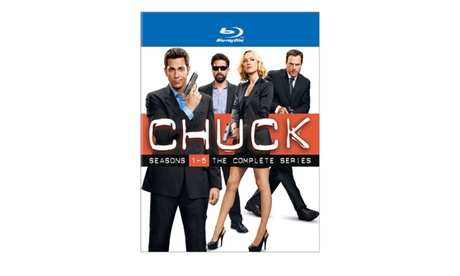 Chuck: The Complete Series - Collector Set (Blu-ray) d76845b1-c3ec-4910-8849-a3cb964213ff