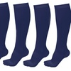 Tell Sell Unisex Graduated Compression Support Socks (5 Pairs)