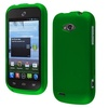 Insten Dark Green Rubberized Rubber Coated Case For ZTE Savvy Z750C