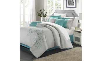 Jasmina 8 or 12-Piece Bed-in-a-Bag Embroidered Comforter Set