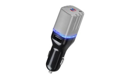 Insten Gray Car Charger USB Air Purifier For iPhone Samsung HTC Nexus 10ff5254-fd15-4001-b838-2e2d6377d395