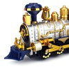 Classical Locomotive Battery Operated Bump and Go Toy Train