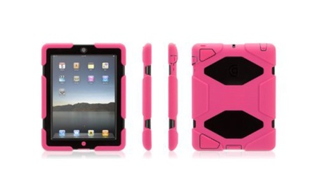 Griffin Technology GB35379-2 Survivor Case for iPad 2/iPad 3/iPad 4 Pink/Black (Goods Electronics Computers & Tablets Tablet Accessories Cases > Tablet Cases) photo