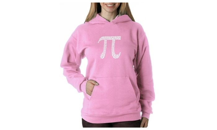 Women's Hooded Sweatshirt -THE FIRST 100 DIGITS OF PI