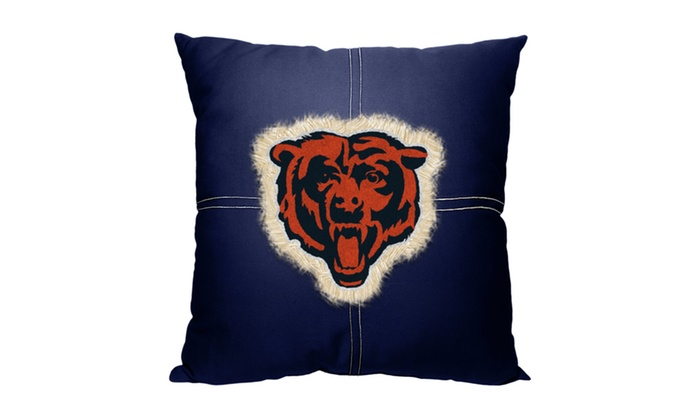 NFL 142 Bears Letterman Pillow