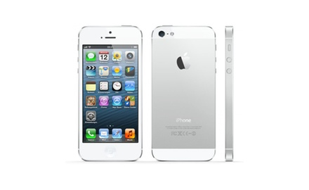 at t refurbished iphone 5s refurbished iphone 5s 64gb silver unlocked groupon 13516