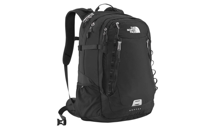 6270251b7 The North Face Router Laptop Backpack in Black | Groupon