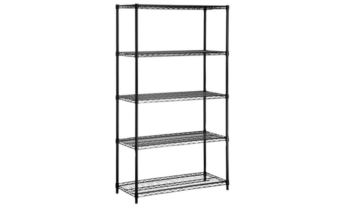 Shelves 5tier Blk350