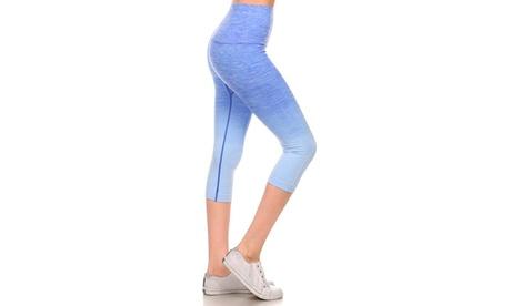 Activewear Ombre Capri Leggings 0970be5e-a42c-4ce1-88c0-8701d262aff8