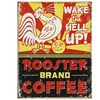 Rooster Brand Coffee Distressed
