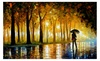 Bewitched park - High Quality Print On Canvas By Leonid Afremov.