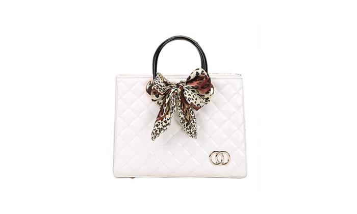 Women's Double Carry Handles Handbags