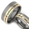 COI Jewelry Aircraft Grade Titanium Ring - JT1161A