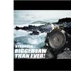 SHARK SH168 Men Digital Waterproof LED Black Rubber Quartz Sport Watch