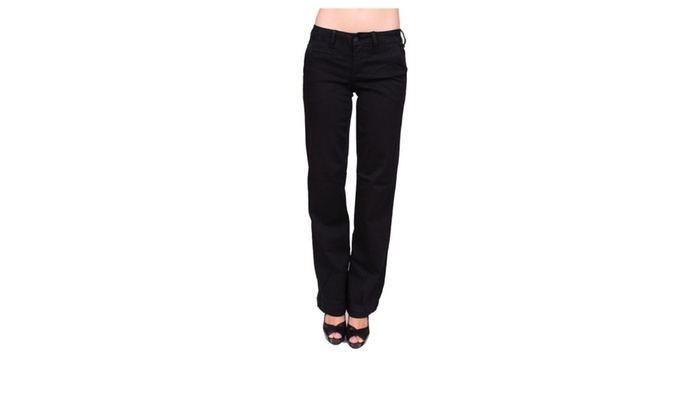 Celebrity Pink Black Trouser Boot Cut with Welt Back PocketCJ22074H20