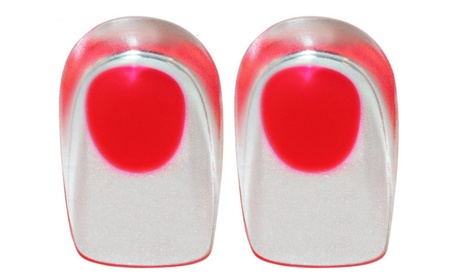 Dual-Layer Gel Comfort Heel Cup (2 Pack) (Red) d1f08ba5-9f8e-41e3-9212-97adab173c2c