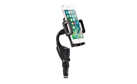 360o Rotation Car Mount Dual USB Charger Cigarette Lighter PhoneHolder 5eb6dc70-de49-46d4-8c06-5c6b37205889