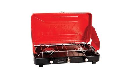 Texsport 14214 Compact Dual Burner Propane Stove, 8000 BTU 54e76198-e5b5-4cc7-baf0-b9acb78b7b1c