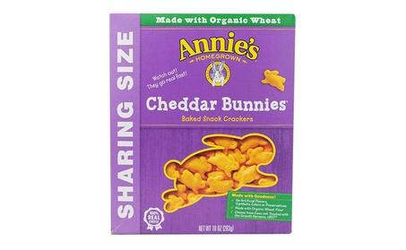 Annie's Homegrown - Cracker Cheddar Bunnies ( 12 - 10 OZ) cc2c9b26-2227-473c-8639-2fed581ad62e