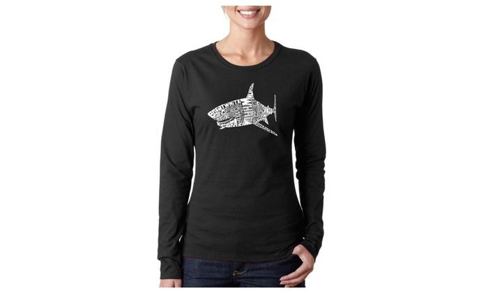 Women's Long Sleeve T-Shirt - SPECIES OF SHARK