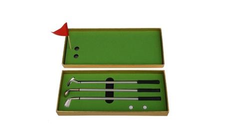 3Pcs Mini Golf Clubs Models Ball Pen Golf Balls Flag Set Golfer 29ca7b94-ca0b-4579-890f-715e3f88d52d
