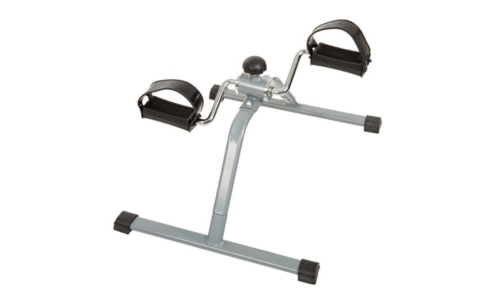 Wakeman Fitness Pedal Exerciser with Adjustable Resistance Knob