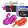 Fred and Friends ESCAPE! Purple Orange Pot Lid Lifters Set of 2