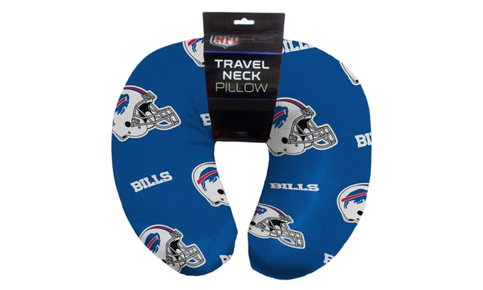 NFL 117 Bills Beaded Neck Pillow